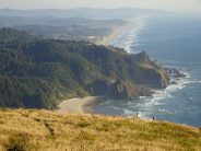Amazing view of Oregon Coast from Cascade Head