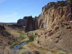 Crooked River in Smith Rock State Park
