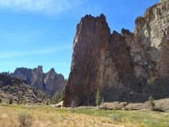 A familiar scenery of Smith Rock State Park