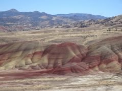A different view of the Painted Hills