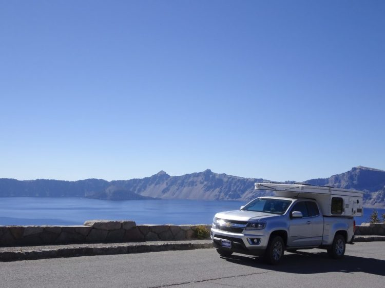 Ren at Crater Lake National Park