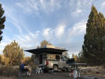 Camping at South Steens Campground