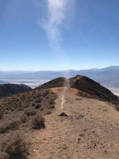 Up close to dust devils at Dante's View