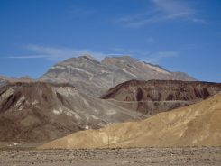 Colorful landscape of Death Valley
