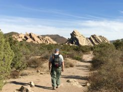 Hiking the Nature Heritage Trail in Vasquez Rocks Natural Area Park