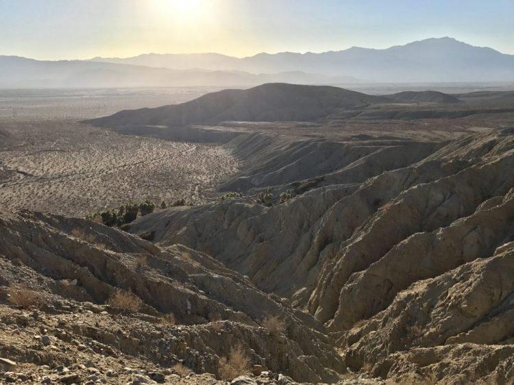 Amazing view of Coachella Valley