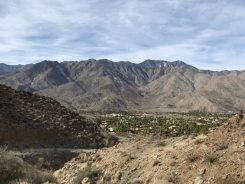 Looking Back to Palm Springs from Start of the Hike