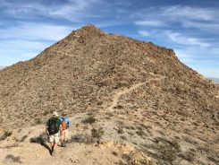 Last Stretch up Murray Peak