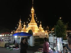 Mae Hong Son at night