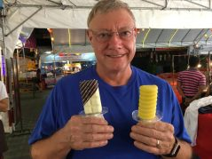 Ice cream from a street vendor in Chiangmai