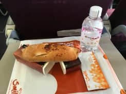 For about an hour flight, many domestic airlines , like Thai Smile, still served snacks. It sure beats flying in the US.