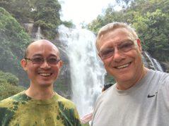 Selfie at Wachirathan Falls