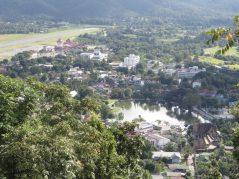 The town of Mae Hong Son