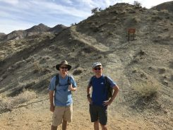 Scott and Keng At First Trail Junction