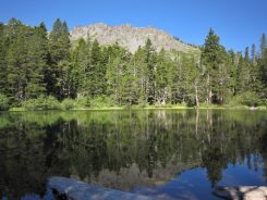 Floating Island Lake with Mt Tallac in the background