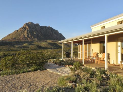 The house we rented during our stay at Big Bend National Park