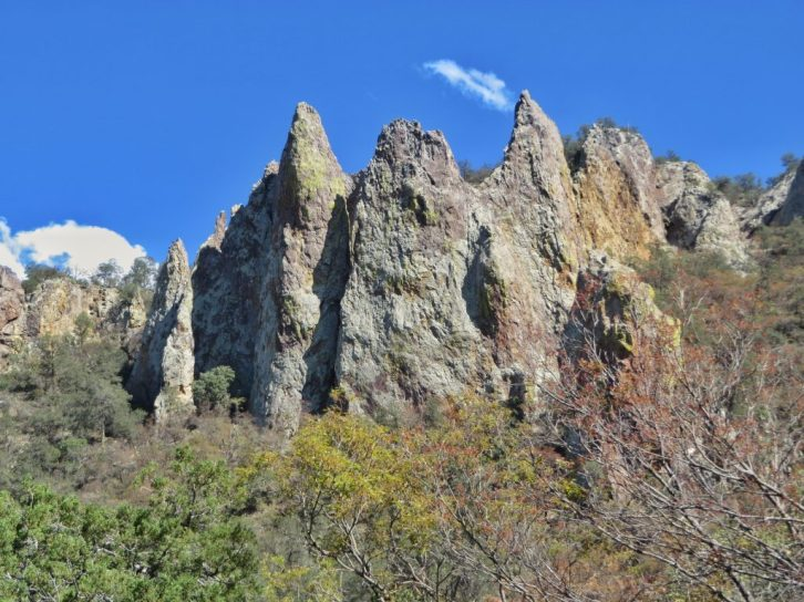 Closing the South Rim Loop through Pinnacles Trail