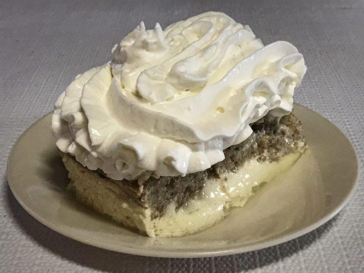 David's delicious bread pudding