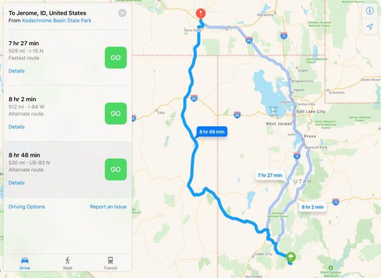 Made our way to Idaho via Great Basin National Park – David ...